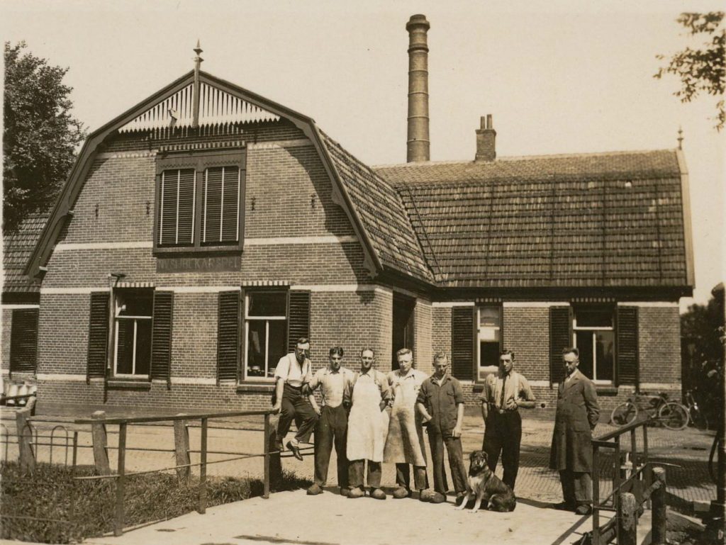 Melkfabriek Prins Hendrik in Sijbekarspel is gebouwd in 1907 en in 1939 definitief gesloten